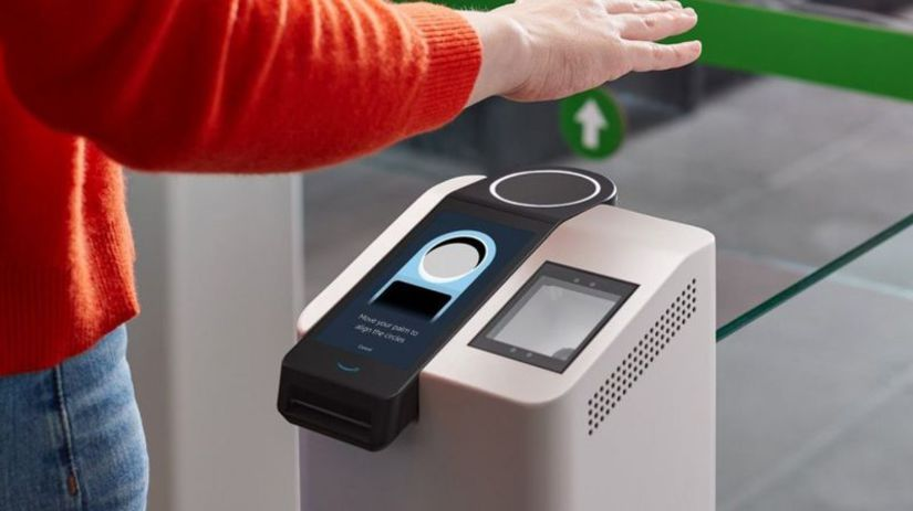 amazon go, biometria