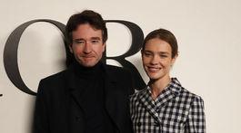 Čerství novomanželia Natalia Vodianova a Antoine Arnault na prehliadke Dior nechýbali.