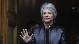 Spevák Jon Bon Jovi na archívnom zábere z februára 2020.