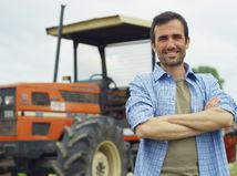 traktor, radosť, poľnohospodár, farmár