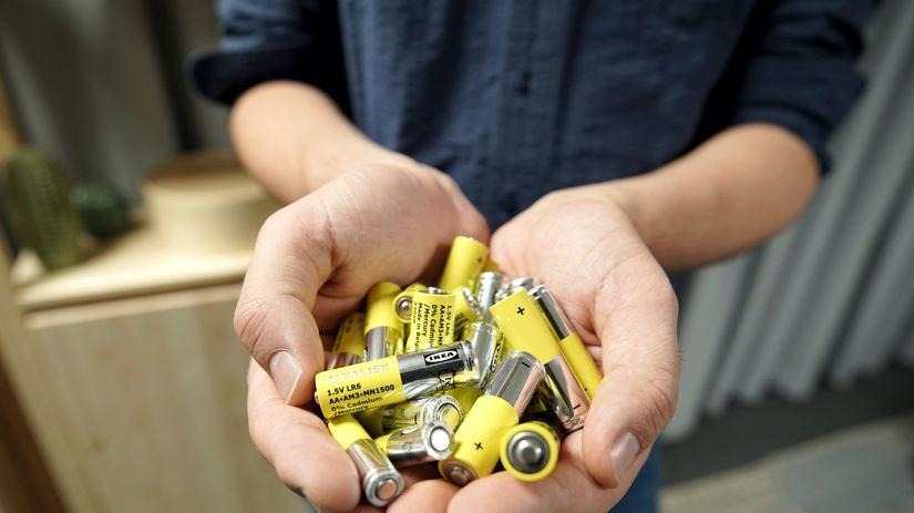 Ikea, Alkalisk, alkalické batérie