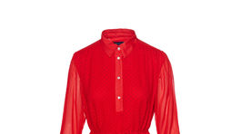 Dámske šaty s jemným vzorom Gant, info o cene v predaji.
