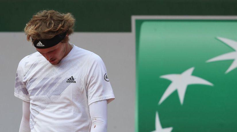 Francúzsko Tenis Roland Garros muži dvojhra 1/8...