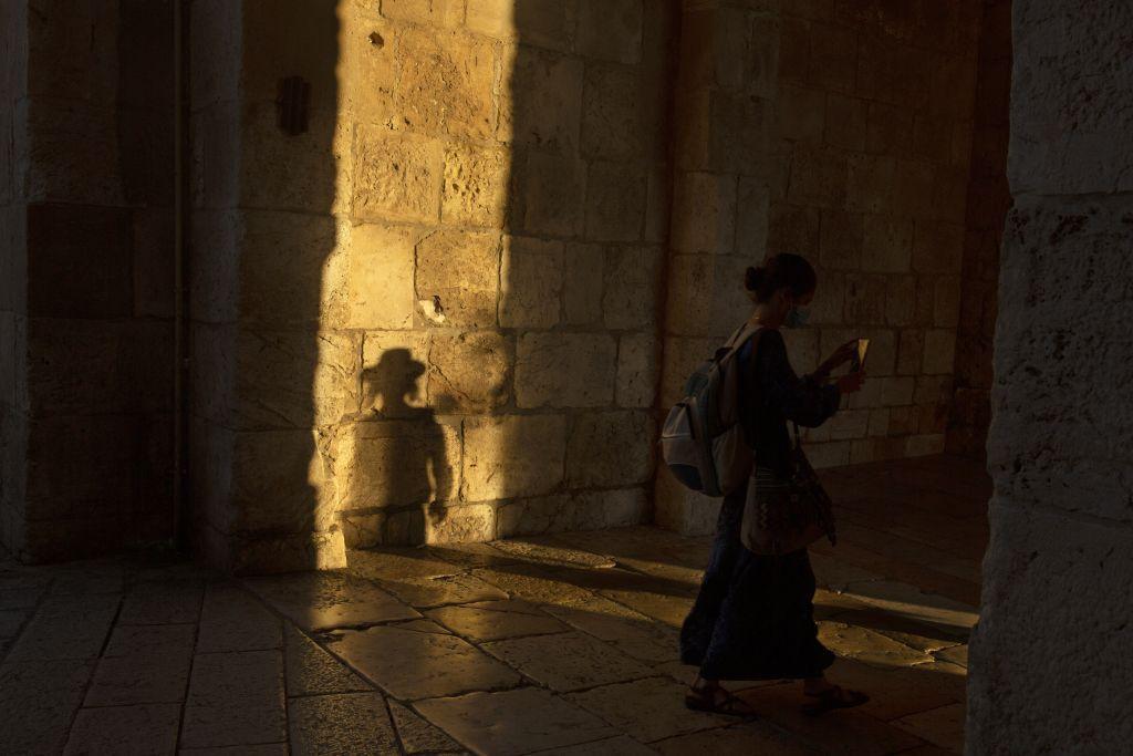 Izrael, ortodoxní, Žid, brána Jaffa, Jeruzalem