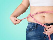 nadváha, obezita, BMI, meranie, obvod pása