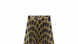Plisovaná sukňa so vzorom Twinset, info o cene v predaji.