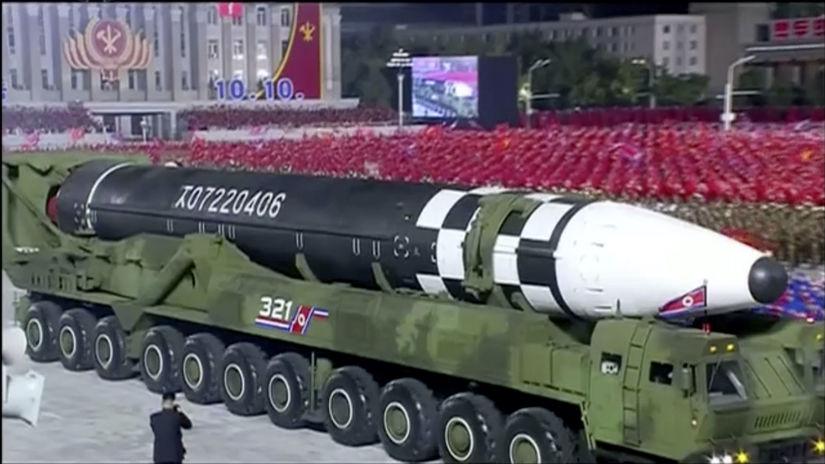 KĽDR, rakety