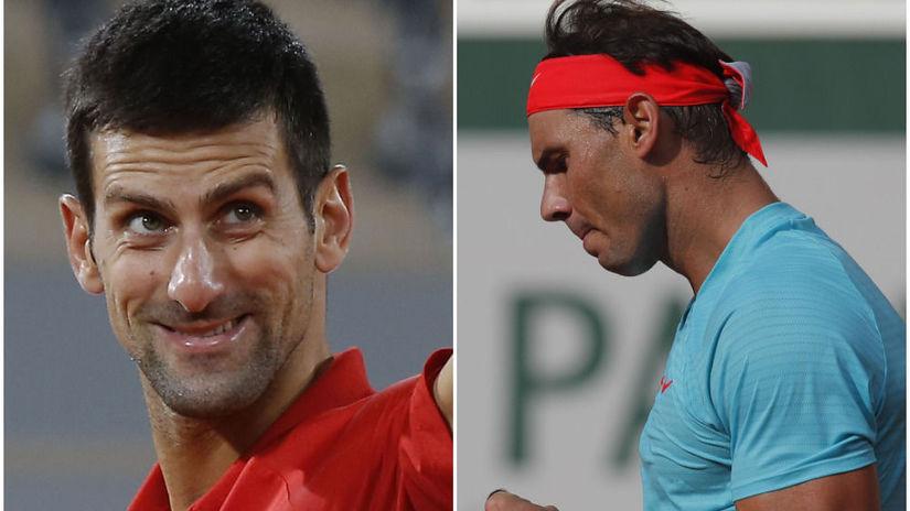 Rafael Nadal, Novak Djokovič