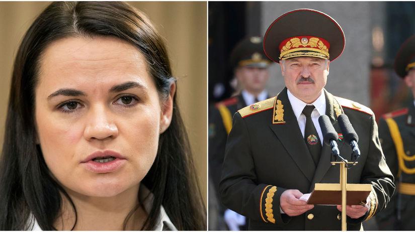 Alexandr Lukašenko / Sviatlana Cichanovská /