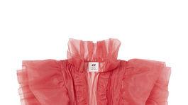 Dámska blúzka so zvýraznenými ramenami H&M, info o cene v predaji.