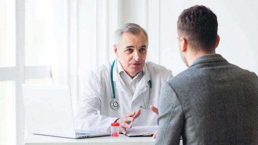 doktor, pacient, ambulancia, lieky, rozhovor,...