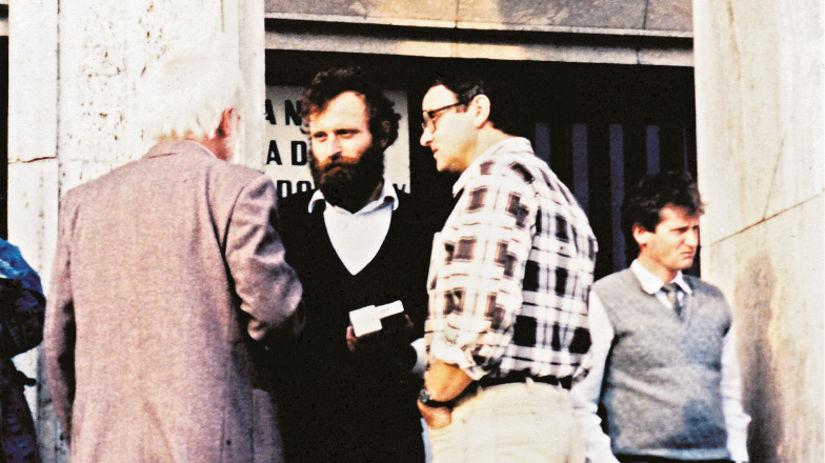 Mikuláš Huba, Josef Vavroušek, 1989, sloboda