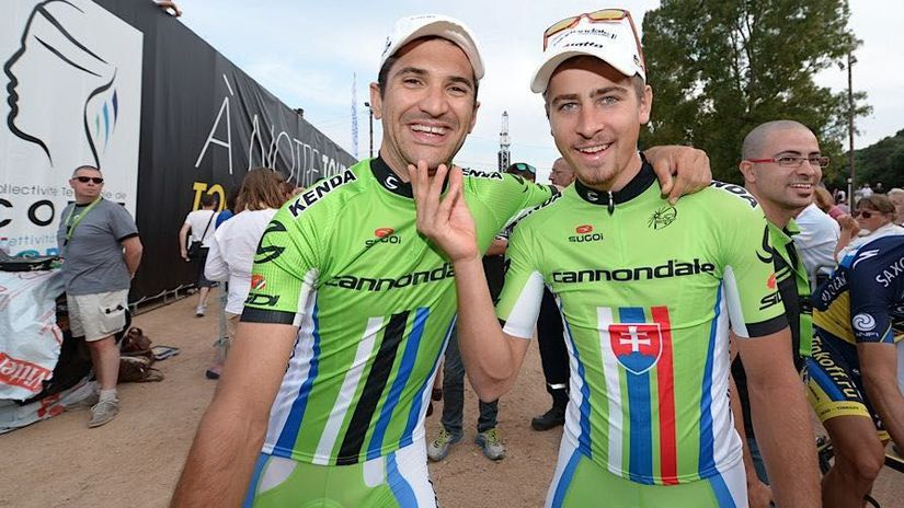 Peter Sagan, Alan Marangoni