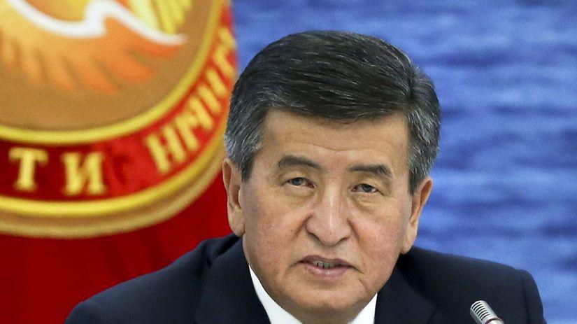 Kirgizsko / Sooronbaj Žeenbekov /