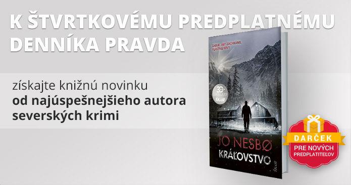 Štvrtkové predplatné s knihou Jo Nesbø -  Kráľovstvo