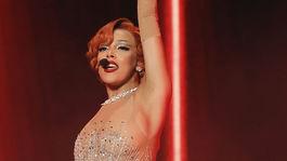 Speváčka Doja Cat na vyhlásení cien Billboard Music Awards.