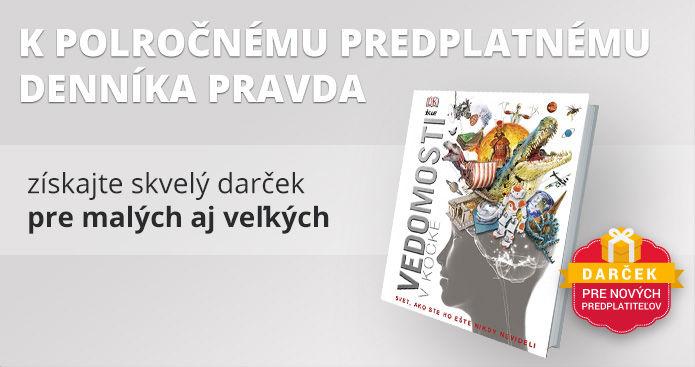 Polročné predplatné s encyklopédiou Vedomosti v kocke