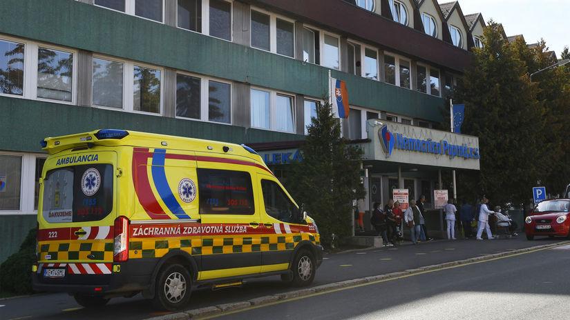 Poprad / Nemocnica /