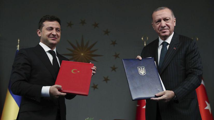 Zelenskyj Erdogan