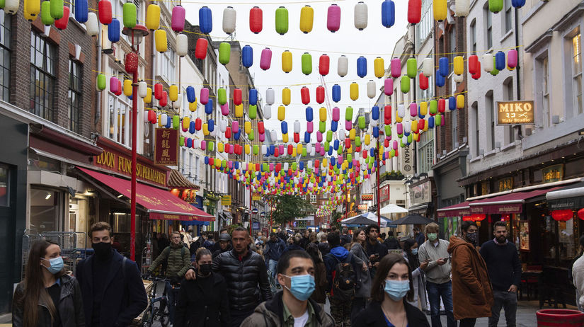 Čínska štvrť v Londýne