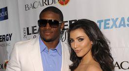 Hráč amerického futbalu Reggie Bush a Kim Kardashian v roku 2009.
