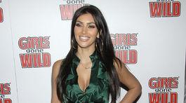 Hviezda reality-šou Kim Kardashian na zábere z roku 2008.