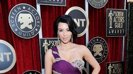 Rok 2011: Kim Kardashian na vyhlásení cien Screen Actors Guild Awards.