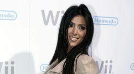 Televízna osobnosť Kim Kardashian v roku 2006.