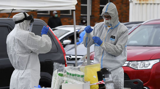 koronavírus covid testovanie