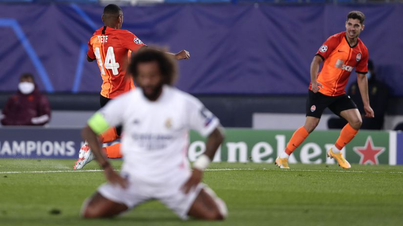 Real Madrid, Šachtar Doneck