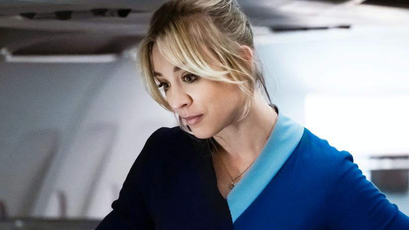 the flight attendant, kaley cuoco,