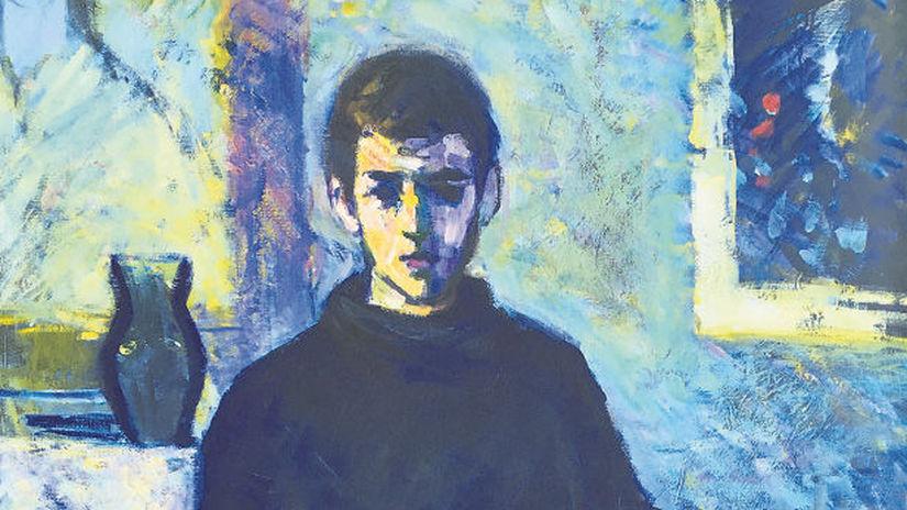 Velky autoportret  1956  olej