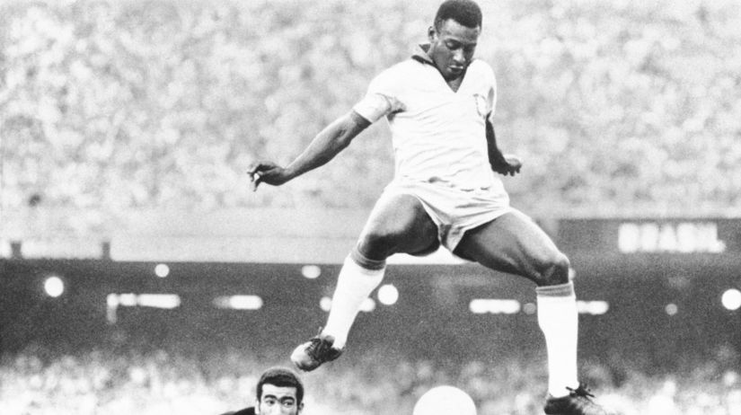 Brazília Futbal Pelé jubileum 80 rokov