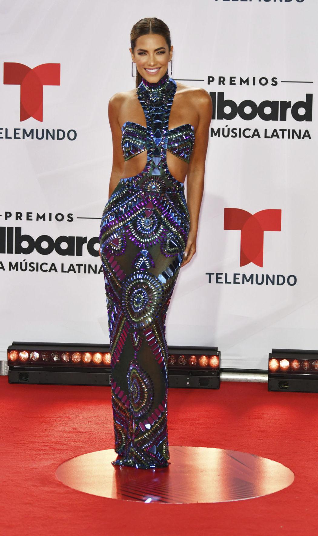 Gaby Espino na vyhlásení cien Billboard Latin...