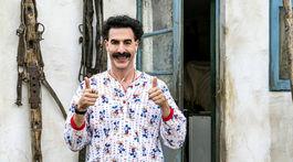 Herec Sacha Baron Cohenako Borat vo filme Borat Subsequent Moviefilm.