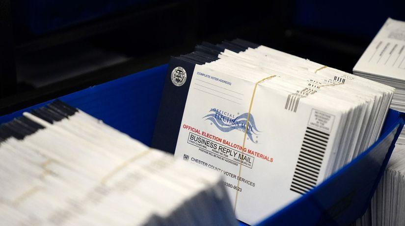 Voľby / Hlasovanie / USA /