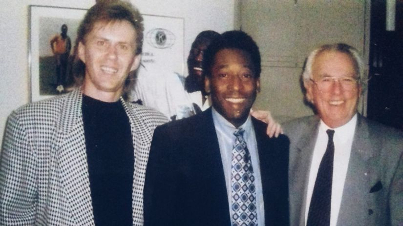 Julio Mazzei, Joe Borbély, Pelé