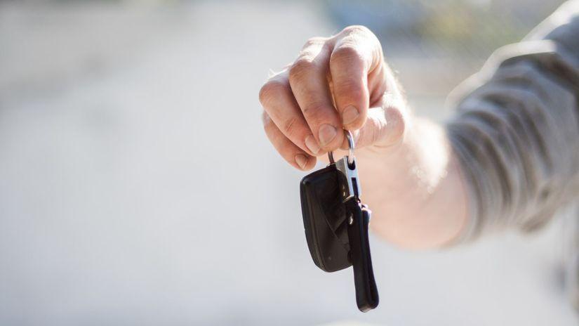 kľúč od auta