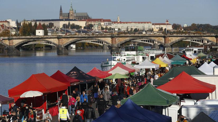 Česko, Praha, koronavírus