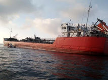 Russia Oil Tanker Fire
