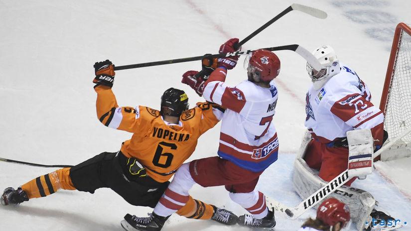 SR Hokej TEL 2.kolo dohrávka Košice L.Mikuláš KEX