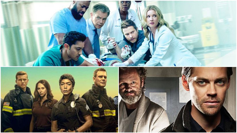 the resident, 911, prodigal son,