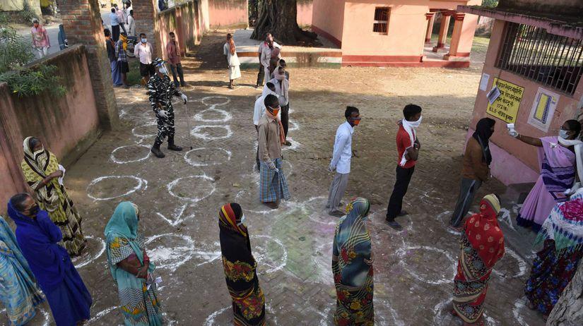 koronavírus, India, voľby