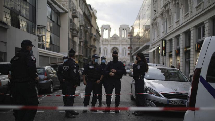 francúzsko útok bazilika Nice polícia notre dame