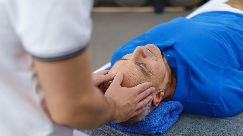 masáž, liečba, kúpele, bolesť hlavy