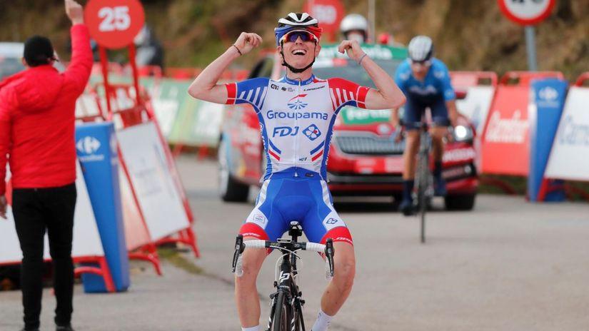 Gaudu cyklistika Vuelta