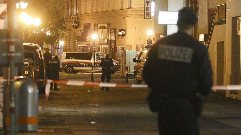 Viedeň / Polícia / Teroristické útoky /