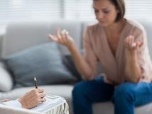 psychológ, psychiater, rozprávanie, terapia, pacient