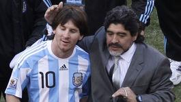 Lionel Messi, Diego Maradona
