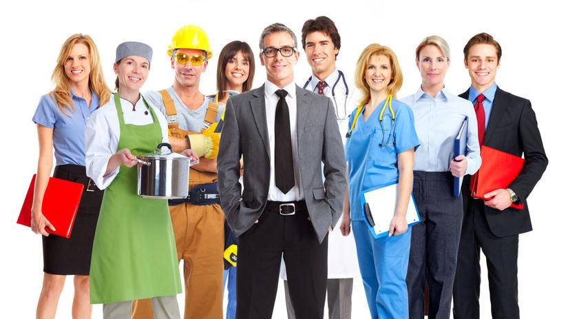 práca, zamestnania, povolania